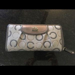 Coach canvas wallet